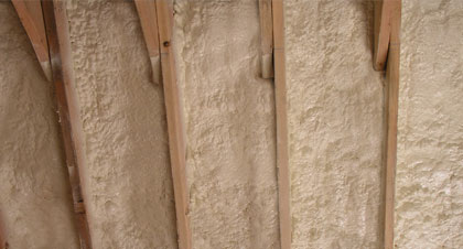 closed-cell spray foam for Mesa applications