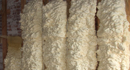 open-cell spray foam for Mesa applications